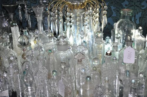 Tear catcher bottles at the enchanted palace
