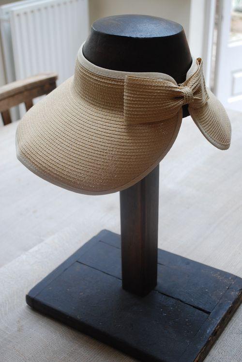 Summer hat as worn