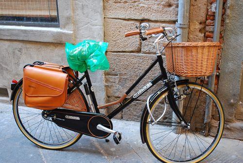 Bike with smart paniers