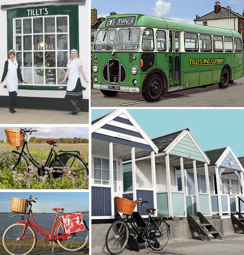 Heritage cycle hire and Olive