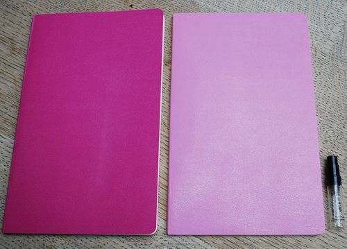 Perfumes moleskin note books
