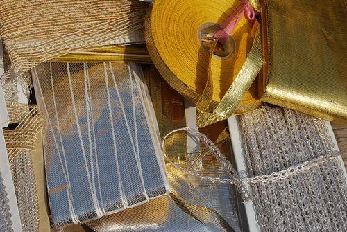Kempton park antique ribbons and trims gold