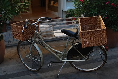 Bikes with double baskets