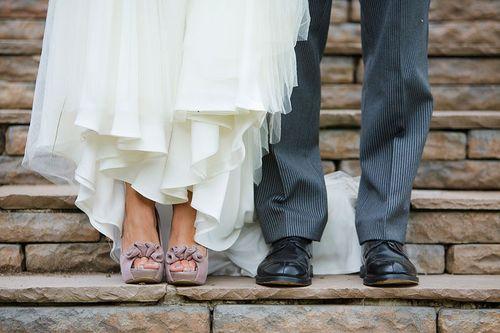 Vintage bride shoes 01