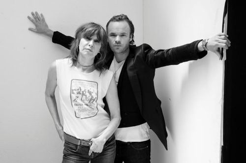 chrissie hynde and jp jones on the women's room blog
