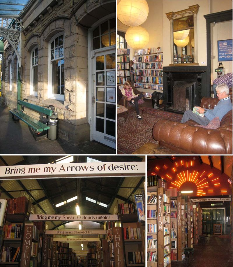 SECOND HAND BOOK SHOPS