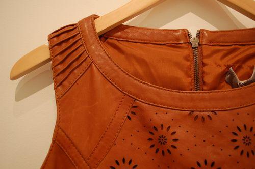 Mint velvet dress detail