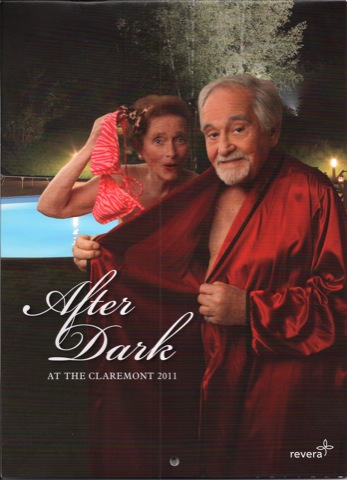 The Claremont after dark