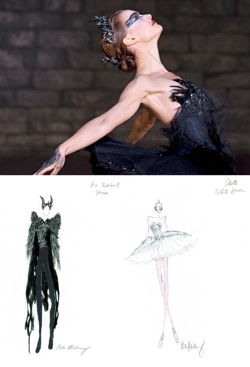 Rodarte costumes black swan