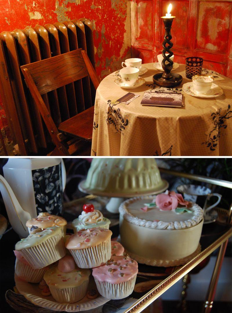 House of Hackney tea room