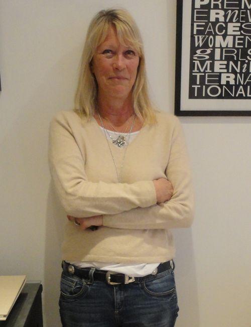 Carole white cropped